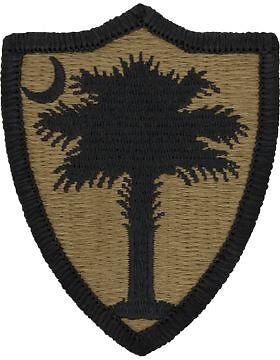 PMV-NG-SC South Carolina National Guard HQ Scorpion Patch with Fastener