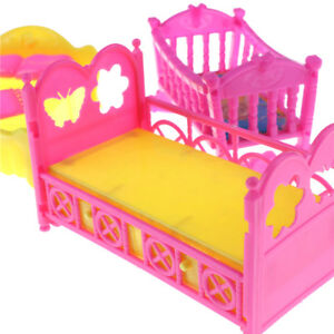 puppenm bel rocking cradle bett f r kelly dollzubeh r m dchen geschenk fl ebay. Black Bedroom Furniture Sets. Home Design Ideas