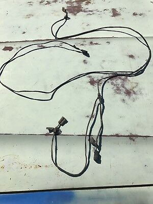 amc amx wiring harness 1973 74 amc javelin amx factory seatbelt interlock system safety  1973 74 amc javelin amx factory