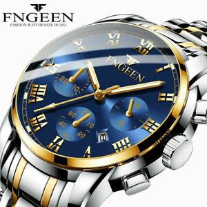 Reloj-de-pulsera-caballero-analogico-chronograph-indica-la-fecha-senores-cuarzo-impermeable