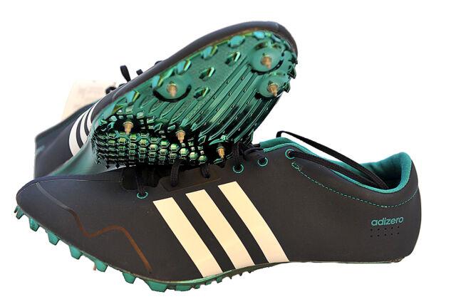 brand new a1f7b b660d Adidas Adizero Prime hombre blanco azul Running sprint tacos deporte  zapatos 46.7  eBay