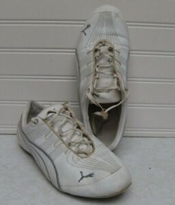 Details about PUMA Womens Vintage White Sneakers Size 7.5 VMC 0408