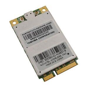 Novatel-Wireless-EU870DT1-Toshiba-PA3547E-1HSD-UMTS-Modul-WWAN-Karte-miniPCI