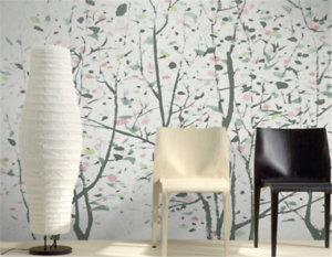 3D colord Branches 9 Wallpaper Mural Paper Wall Print Wallpaper Murals UK Carly