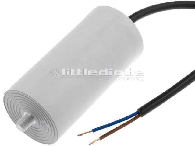 4.16.10.26.14 Capacitor motors run 25uF 425V Ø40x92mm -25-70°C ±5% DUCATI