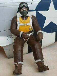 Corps plein 3d Imprimé Vintage pilote de planeur pour RC Warbirds-Toutes les échelles