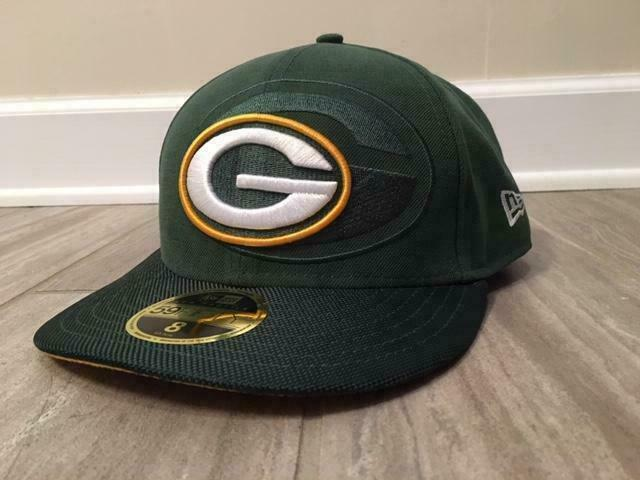 Size 8 Era 59fifty Nfl Cap Green Bay Packers Sideline Low Profile Fitted Hat For Sale Online Ebay