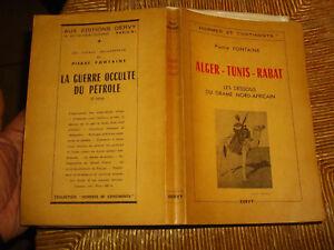 ALGER-TUNIS-RABAT-Algerie-Tunisie-Maroc-Evenement-1950