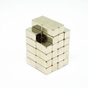 5pcs-20x10x10mm-Block-Rare-Earth-Neodymium-NdFeB-Magnet-Strong-Craft-Magnet-N38