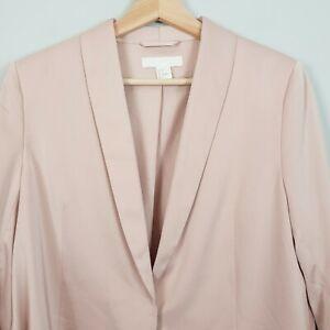 H-amp-M-Womens-Tie-detail-Blazer-Jacket-Size-AU-10-or-US-6