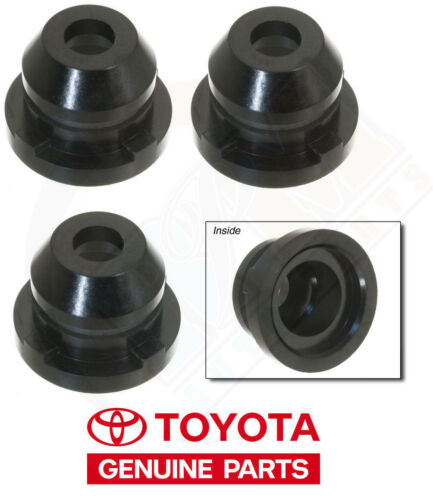 Toyota 3.0 V6 GENUINE Fuel Injector Nozzle Holder Cap 90561-10002 Pack of 3