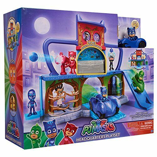 NEW PJ Masks Headquarters Playset FREE SHIPPING