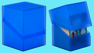 ULTIMATE-GUARD-BOULDER-SAPPHIRE-Standard-Size-DECK-CASE-100-NEW-Card-Box-MTG