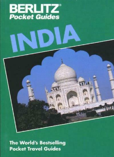 BERLITZ 95 INDIA (BERLITZ COUNTRY GUIDE, POCKET SIZE) By BERLITZ PUBLISHING COM
