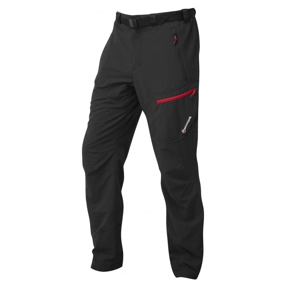 Montane Alpine Trek Pants men, elásticos Softshell pantalones para caballeros, talla XL