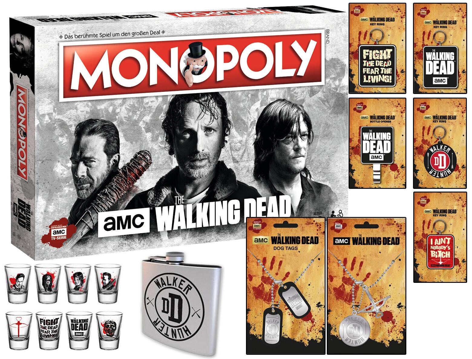 Monopoly The en marchant Dead AMC jeu de plateau  jeu de société + aHommesdeHommest  magasin en ligne