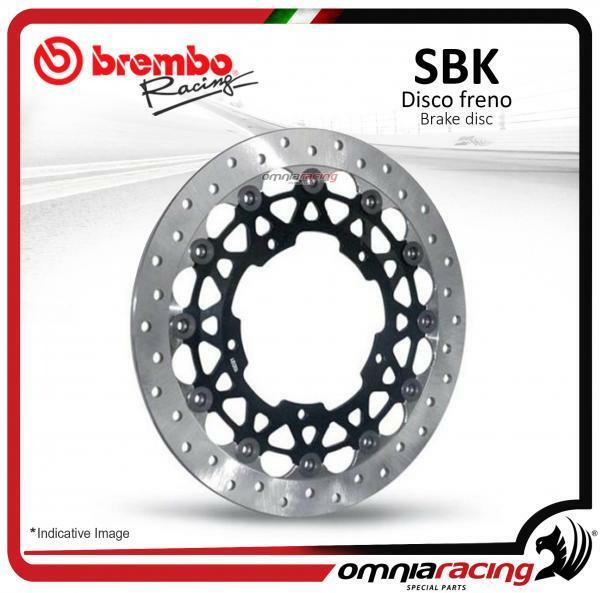 Disque frein Brembo Racing 6mm Ø320x6 6 Fori 64x80 Ducati Monster S4 S4R S2