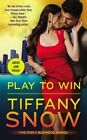 Play to Win by Tiffany Snow 9781455532902 (paperback 1960)