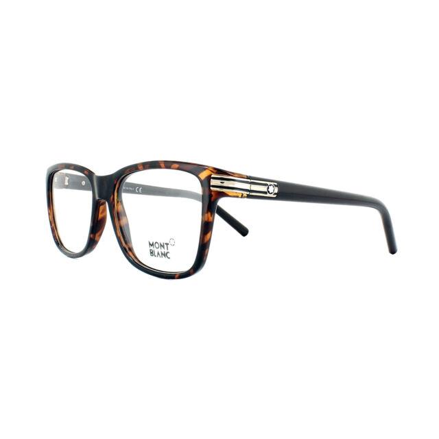 0182fb3ab96b Montblanc Eyeglasses Mb0477 052 Dark Havana 55mm for sale online