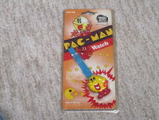 Pac-Man Figure Wrist Watch Micro Games Of America Vintage 1980's MGA-306 NOS NEW
