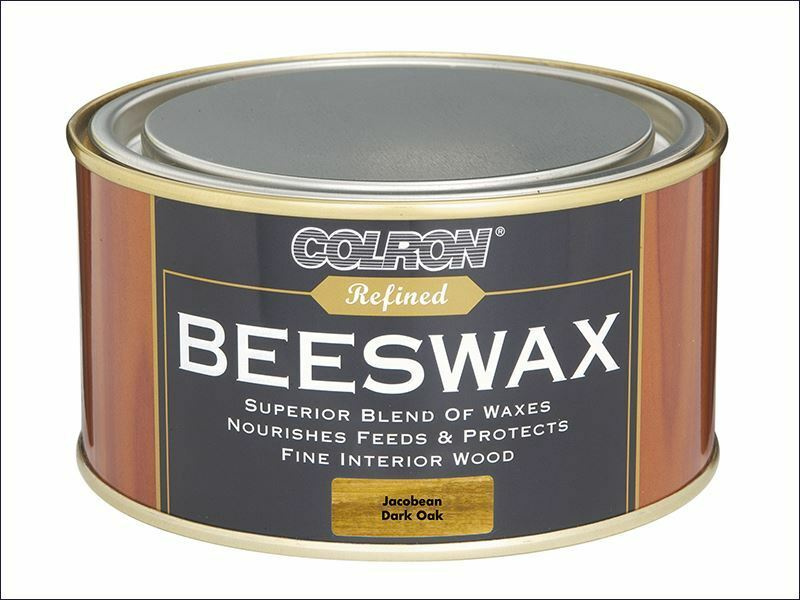 Ronseal - Colron Refined Beeswax Paste Dark Oak 400g