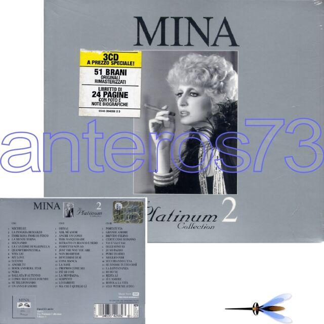 """MINA """"THE PLATINUM COLLECTION 2"""" RARO BOX 3 CD FUORI CATALOGO - SIGILLATO"""