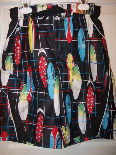 12 Medium NWT Hang Ten B Surfboard Swim Suit Board Trunks Shorts Boys Size 10