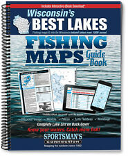 Wisconsin's Best Lakes Fishing Maps Guide Book | Sportsman's Connection