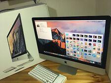"Apple iMac 27"" Retina 5K i5 3.3GHZ,RAM 32GB,HDD 1TB 2015 Model"