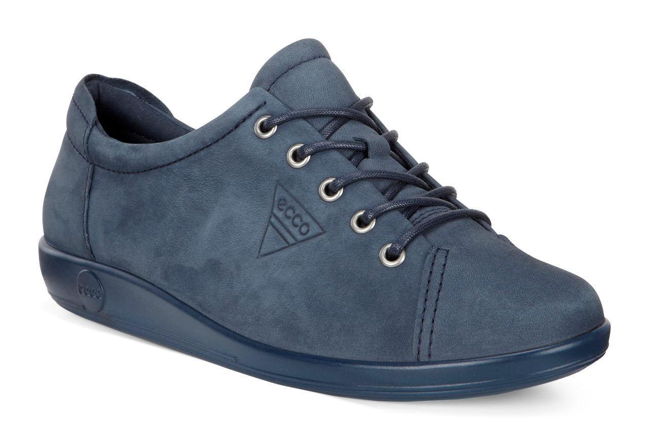 moon marine 2.0 Soft Schnürschuhe Schuhe Ecco blau
