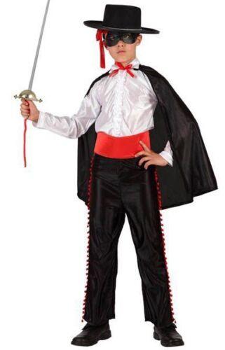 Costume ZORRO Don Diego della Vega  Tg 10//12