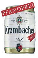 Krombacher Partyfass 5 Liter 4,8% Vol 2,5€/l