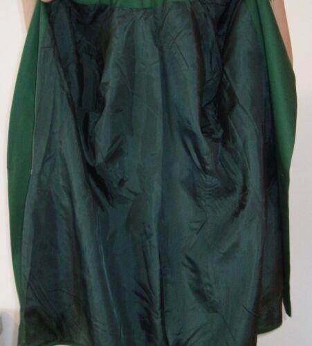 Taille Vert Veste 40 Lainage Blazer Vintage
