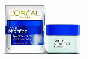 L'OREAL PARIS Whitening + Even Tone White Perfect Day Cream SPF 17 PA++  50 ML