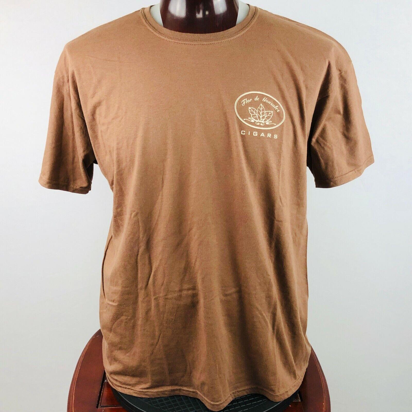 Flor de Gonzalez Cigars Mens XL Graphic T Shirt