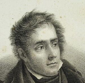 Francois-wiedergeboren-Vicomte-Chateaubriand-c1840-Romantik-Weihn-Paar-De-France