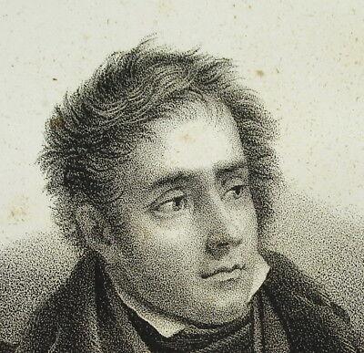 Brillante François-rené Vicomte Chateaubriand C1840 Romantisme Littérature Pair De France