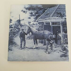 Vintage-Mosa-Holland-Delft-Tile-with-Windmill-and-Farrier-Square-6x6