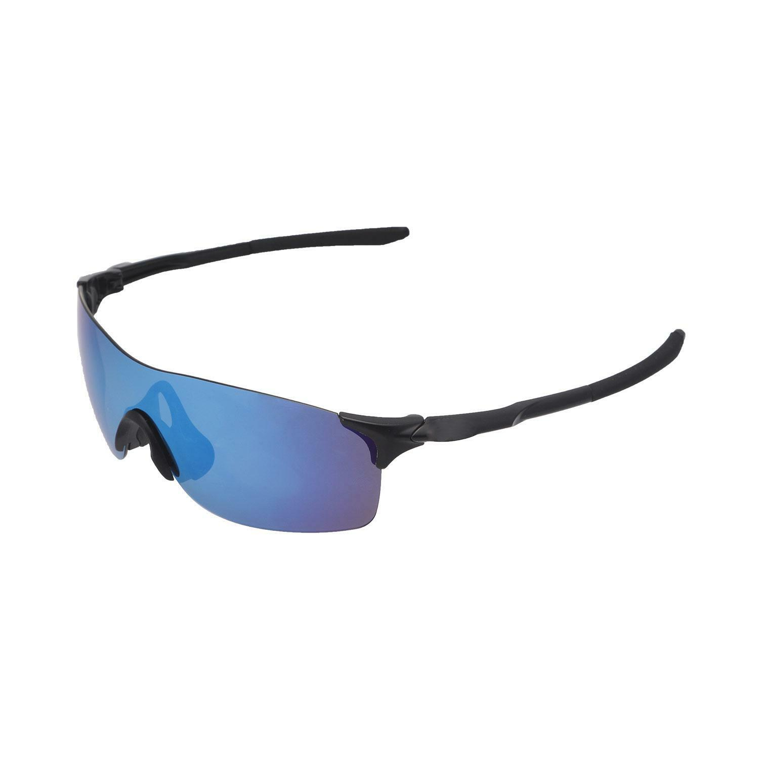 aacf8116069 Walleva Ice Blue Polarized Replacement Lenses for Oakley Evzero Pitch