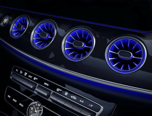 Genuine Mercedes-Benz W124  Center Console Vent A1248300754