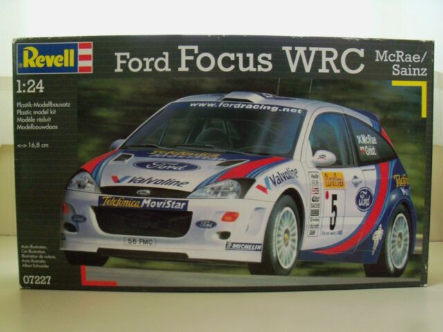 Revell Model Kit 07227 Ford Focus Wrc 1 24 Factory Ebay