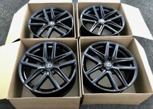 18 Lexus F Sport Is250 Is350 Factory Rims Wheels 250 350 Black Oem