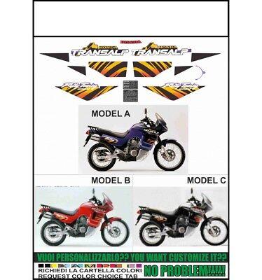 Kit adesivi decal stikers honda xl 600 v transalp 1989-1990 INDICARE IL MODELLO A o B o C