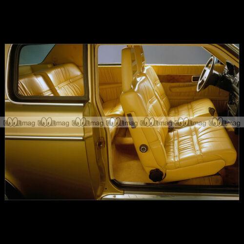 Car Auto #pha.008494 Photo VOLVO 262 C 1977-1981 INTERIOR