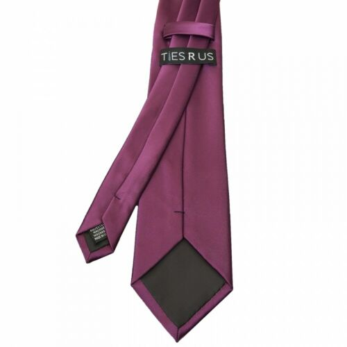 Mens Plain Classic Ties Wedding Ties Prom Ties Regular Normal Neck Ties Handmade