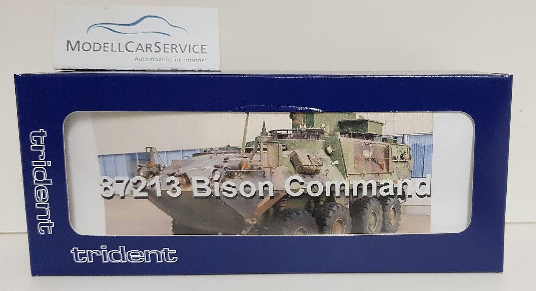 Trident 1 87  87213 Bison Command, Canadian Army - Resinbausatz