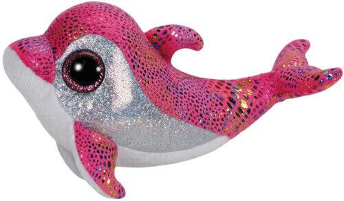 ca 15cm 58635987 GL Sparkles-Delfin pink
