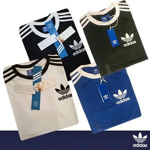 Adidas-Originals-t-shirt-Men-039-s-California-Retro-Crew-Neck-Short-Sleeve-S-M-L-XL