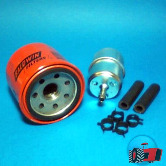 FLK5204 Oil Fuel Filter Kit Kubota G1700 G1800 G1900 Tractor & B5200 B6000 B6200