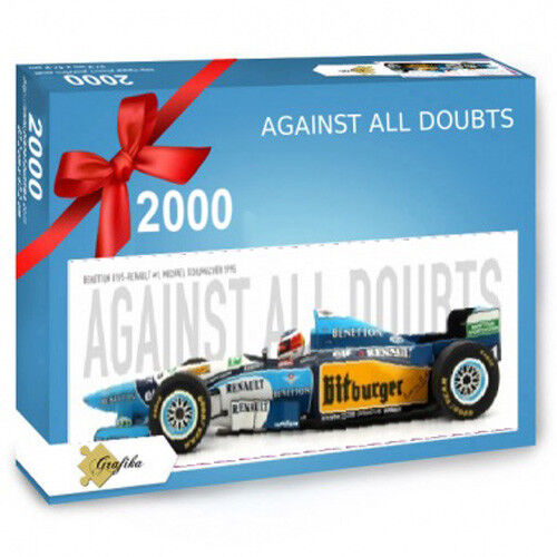 Against All Doubts Panorama 2000 Teile 133x48 133x48 133x48 cm Benetton B195-Renault  1 abc2bc